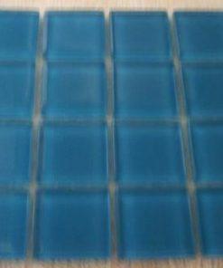 AQUA MARINE - 23 x 23 x 4 mm