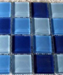 MIX BLUE - 23 x 23 x 4 mm