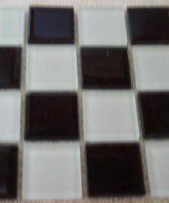MIX BLACK & WHITE - 23 x 23 x 4 mm