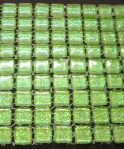 MINI LIGHT GREEN (GLITTER) 10 or 11 mm (Sheet Sizes the Same)
