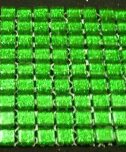 MINI LIME GREEN (GLITTER) - 10 or 11 mm ( Sheet Sizes the Same )