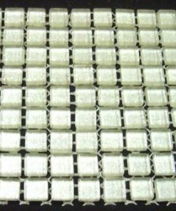 MINI SILVER (GLITTER)  - 10 or 11 mm ( Sheet Sizes the Same )
