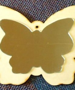 Butterfly 6 mm & Mirror Finish Butterfly (370 x 291 mm) (MR08)