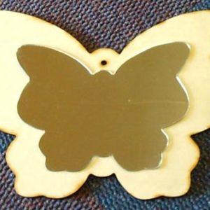Butterfly 6 mm & Mirror Finish Butterfly (370 x 291 mm) (MR08)