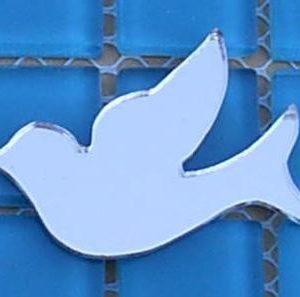 Mirror Doves  50 x 45 mm (MF10)