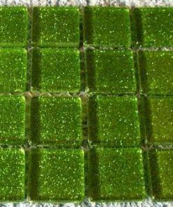 KERMIT GREEN (GLITTER) - 23 x 23 x 4 mm