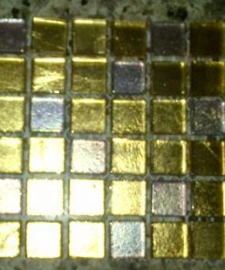 Foil - Gold Mix - 15 x 15 x 4 mm