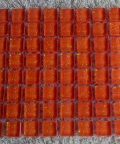 MINI Apricot (GLITTER) - 10 or 11 mm ( Sheet Sizes the Same )