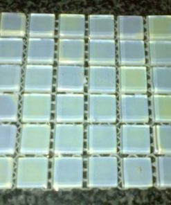 Pearl White - 15 x 15 x 4 mm