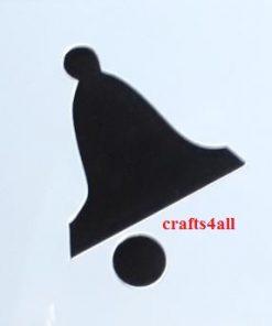 Bell  ( Sch 11 )  Size:- 80 x 70 mm
