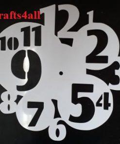 Clock - Fancy ( Sfanc 13 )  Size:- 290 mm