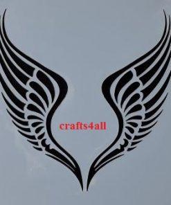 Angel Wings ( Sfanc 32 )  Size:- 220 x 220 mm