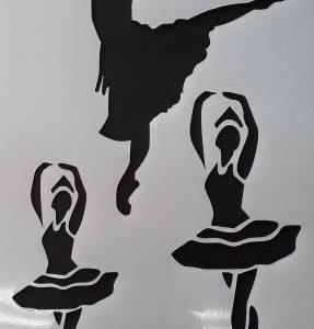 Ballet Dancers ( Shob 02 )  Size:- 210 x 290 mm