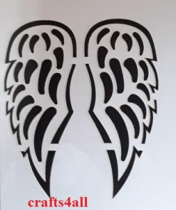 Angel Wings  ( Sre 05 )  Size:- 185 x 80 mm