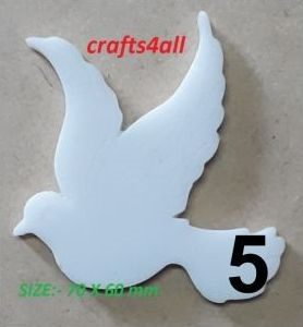 Dove 70 x 60 mm  - Weight 35 gr