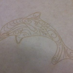 Canvas (Wood) with Design