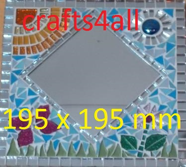 """ MOSAIC ""  Mirror Project 195 x 195 mm"