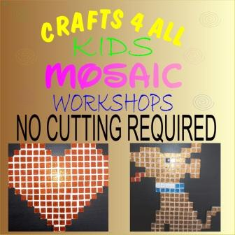 """"""" Kids """"  - Mosaic - No Cutting of Tiles Required"""