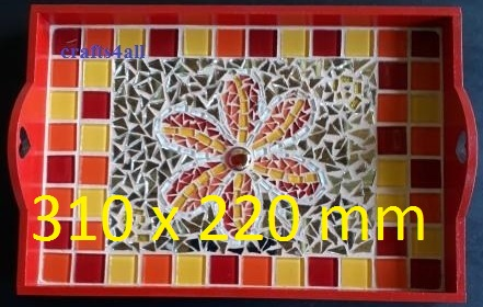 """ MOSAIC ""  Tray 310 x 220 mm"