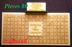 Puzzle ( Message Board ) MADE TO ORDER - COLLECTIONS ONLY