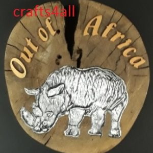 """ Out of Africa "" Approx Size:- 180 x 35 mm with Metal Embossing"