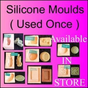 Silicone Moulds ( Secondhand ) 1 in Stock of Each