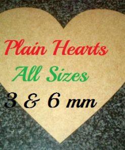 Hearts Plain